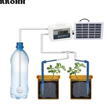 Zonne-energie Automatische Micro Thuis Drip Irrigatiesysteem Watering Kits Waterpomp Timer Controller Voor Huis Tuin Bonsai