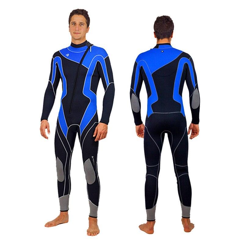 3MM Neoprene Men Scuba Hunting Diving Cloth Surfing Kitesurf Snorkeling Spearfishing Wetsuit UnderWater Swimming Beach Equipment