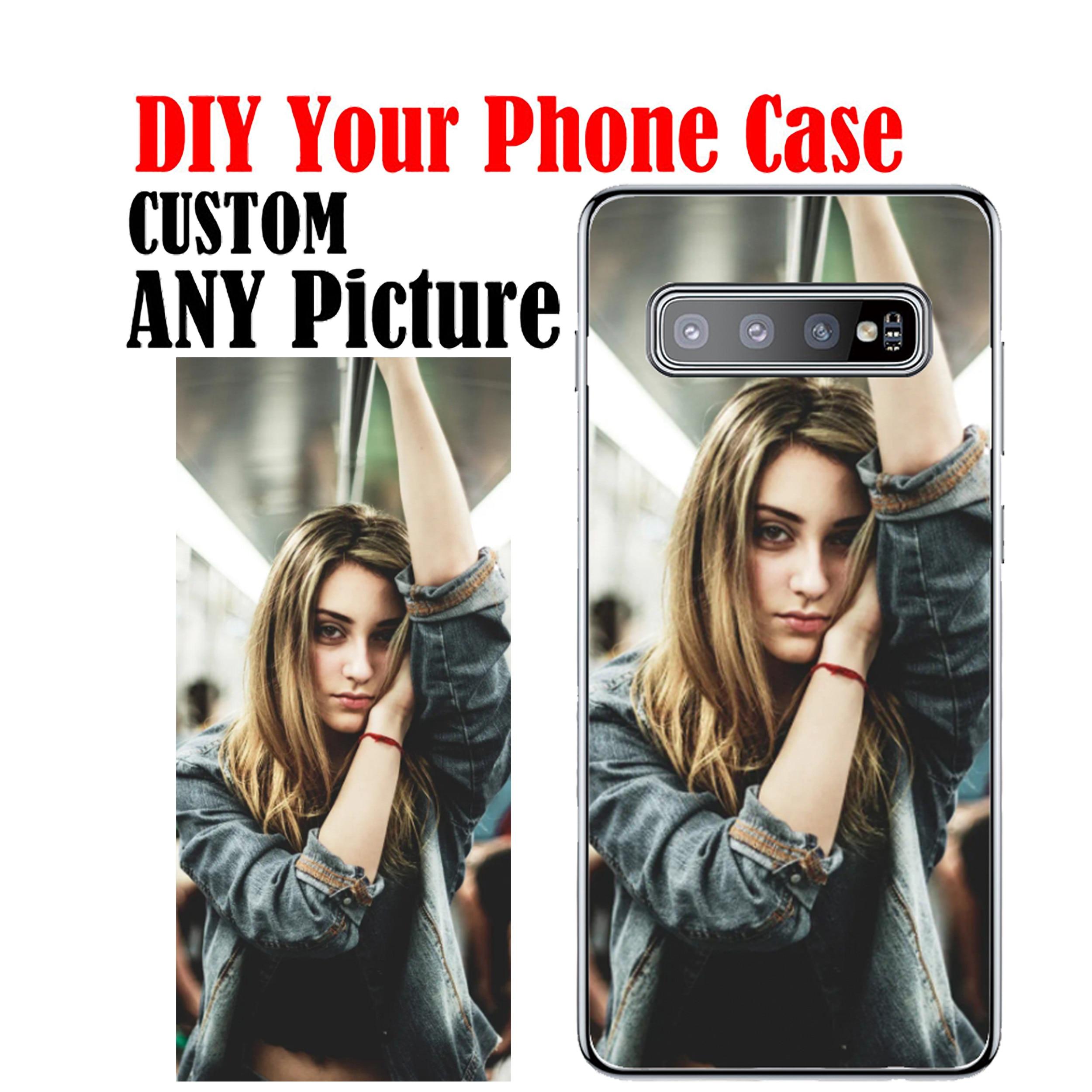Funda de silicona personalizada Coque agregar su propia foto funda de teléfono para Samsung S20 Ultra S11 S10E S20 S11 S10 S9 S8P