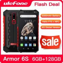 Upgrade Ulefone Armor 6S  IP68 NFC Rugged Mobile Phone Helio P70 Otca-core Android 9.0 6GB 128GB wir