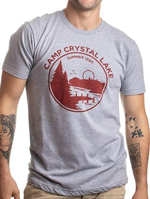 Kuakuayu HJN Sommer 1980 Camp Kristall See Lebensberater Lustige 80s Horror Film Fan Humor Witz T-Shirt Lustige T-shirts für männer Mode