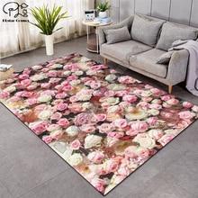 European Style High Quality Flower 3D Carpet For Living Room Rugs Bedroom Anti-Slip Floor Mat Fashion Kitchen Carpet Area Rugs15