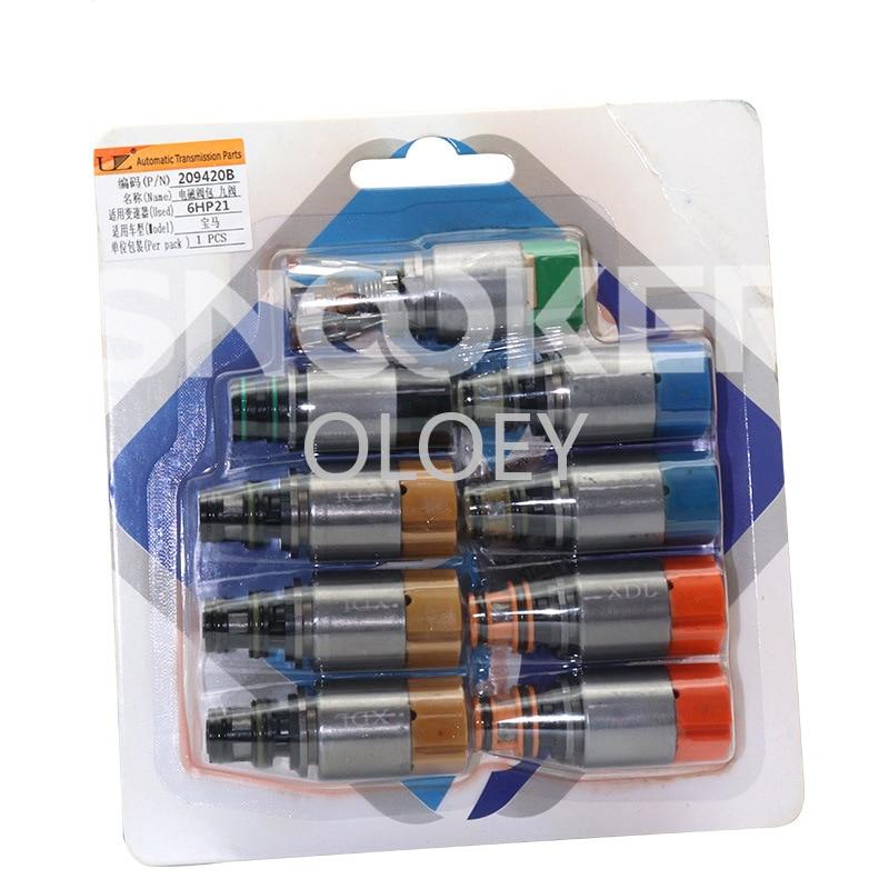 Kit de vanne solo 6 vitesses 6HP21   Boîte de rangement, 9 boîte de rangement, électrovanne pour BMW série 3 X5 X6