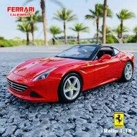 bburago 118 ferrari california car manufacturer authorized simulation alloy car model crafts decoration collection toy tools