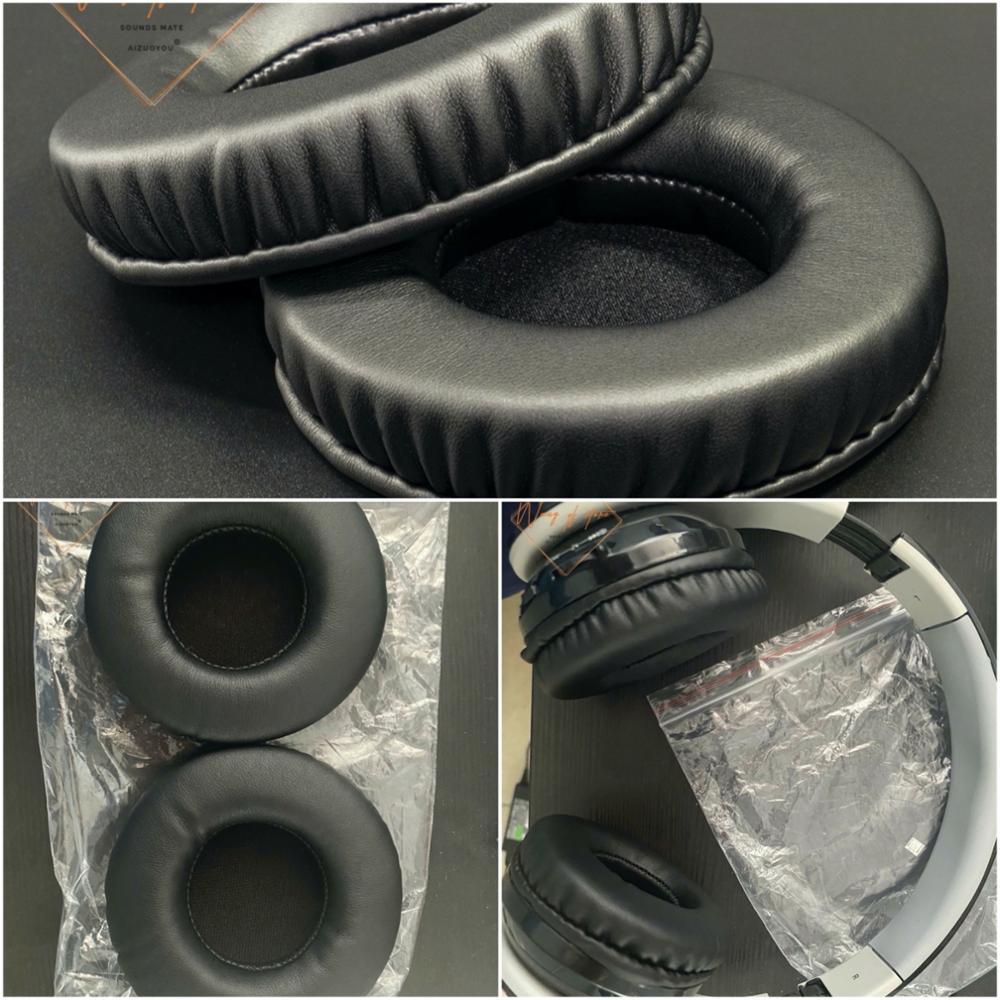 Almofadas de Ouvido de Couro Almofada de Espuma Earmuff para Beyution Fones de Ouvido Macio Bluetooth Qualidade Perfeita Versão Não Barata V4.1