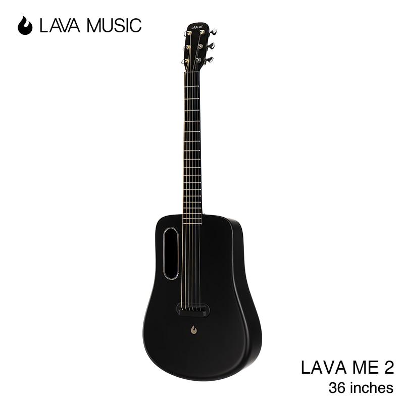 LAVA ME 2 FreeBoost Guitar Carbon Fiber Guitar Acoustic Electric Instrument 36 Inches Travel LAVA MU