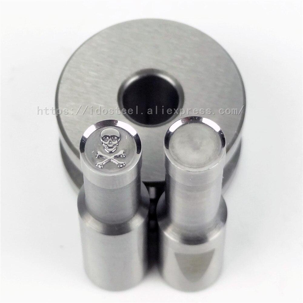 Головка черепа 8 мм молочная таблетка пресс-форма для таблеток BateRpak пресс-форма для штамповки конфет штамповка кальция таблеточный пробивной пресс для таблеток ручная штамповка, в наличии