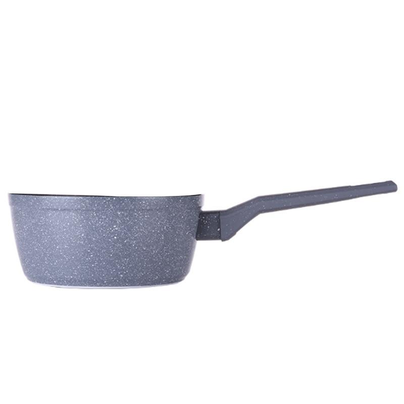 Olla de cocina antiadherente para cocinar, fideos, sopas de leche caliente, olla de nieve japonesa, utensilios de cocina, olla de suplemento de alimentos para bebés
