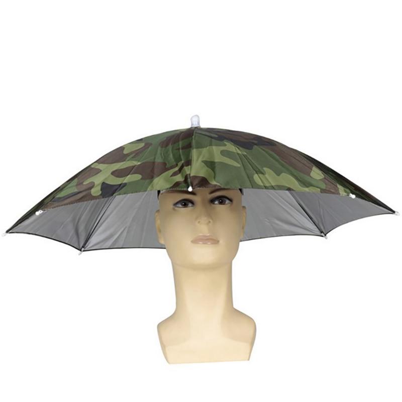 Outdoor Umbrella Shape Children Sun Block Fishing Caps Unisex Heard Wearing Fishing Hiking Hat UV Protection Face Neck Flap Cap