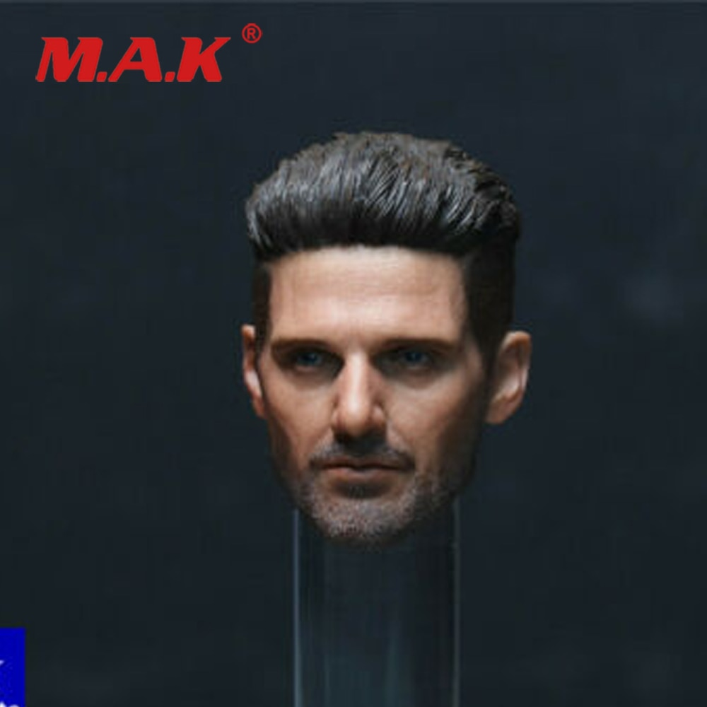 1/6 Frank Grillo Male Head Carving Head Sculpt Model For 12'' Inch Action Figure Dolls In Stock недорого