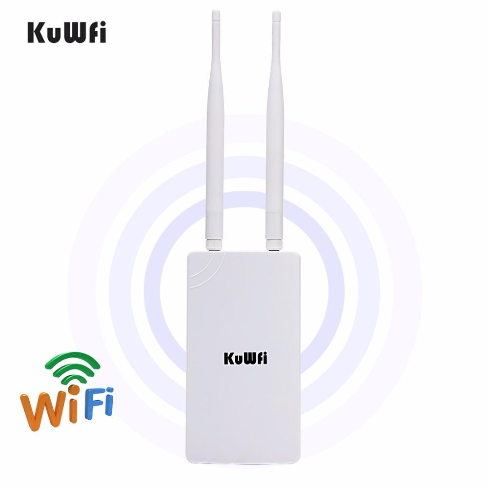 ao ar livre sem fio wifi repetidor wi fi extensor 300mbps 24ghz ponto de acesso wide