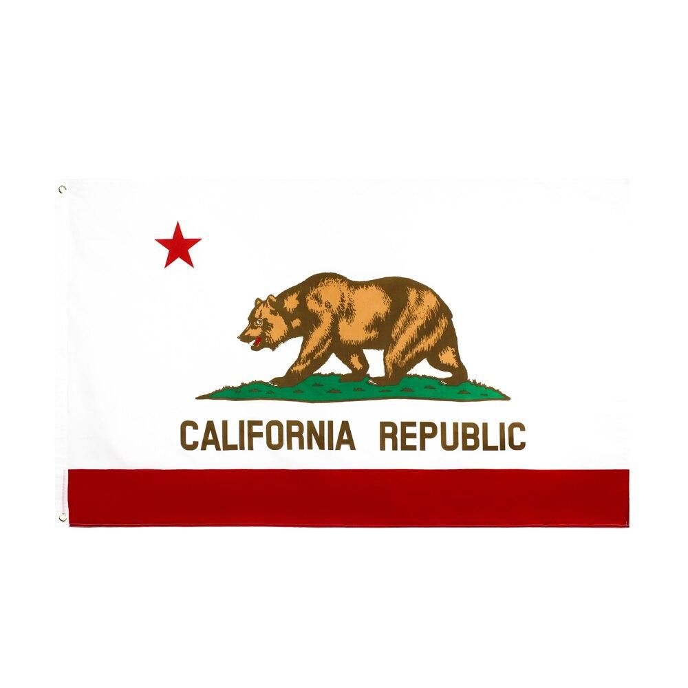 Bandera de Estados Unidos de california de 90x150cm de Xiangying