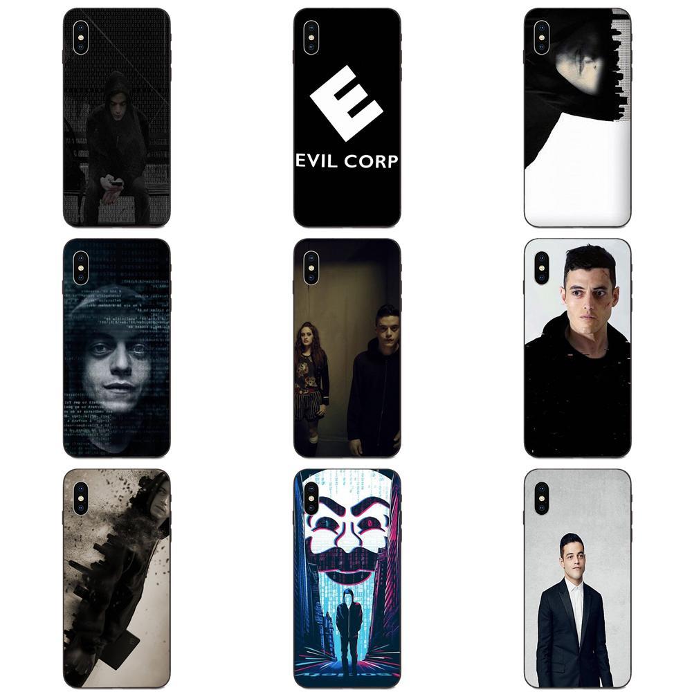 Señor Robot Elliot Alderson suave caso de Huawei nova 2 2S 3i 4 4e 5i Y3 Y5 II Y6 Y7 Y9 Lite Plus primer Pro 2017 de 2018 de 2019