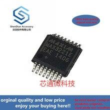 2-10 قطعة 100% أصلي جديد أفضل qualtiy MAX3221EEAE SSOP16 ± 15kV ESD-Protected, 1uA, 3.0 فولت إلى 5.5 فولت, 250 kbps, RS-232 T real photo