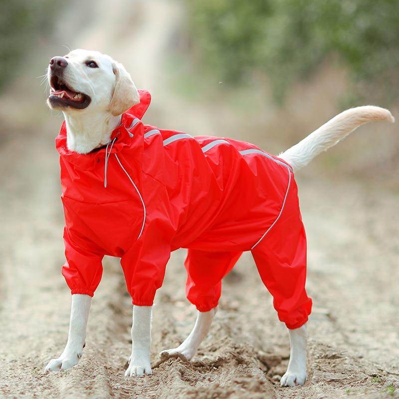 Imbracaminte impermeabilă impermeabilă pentru câini pentru animale - Produse pentru animale de companie - Fotografie 3