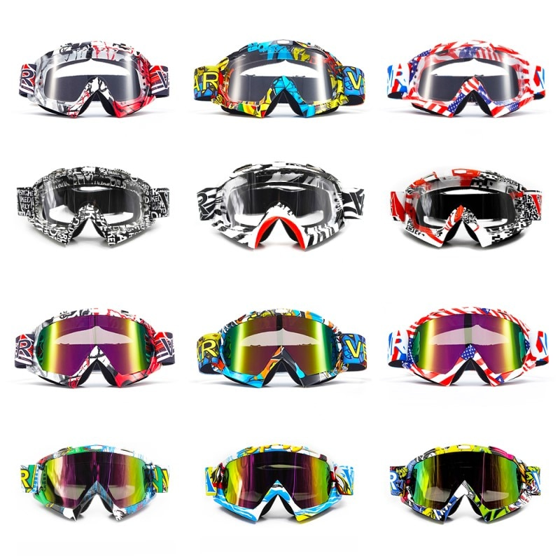 VEMAR Motorcycle Goggles Ski Glasses Motocross Goggles Eyewear Snowboard Glasses Moto Motorbike Dirt Bike Cycling Glasses Goggle enlarge