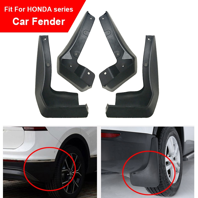 Guardabarros de coche 4 Uds para Honda Civic 2006-2011 Accord CRV HRV Jazz Fit NC750X guardabarros delanteros y traseros para coche guardabarros para tablero de arena