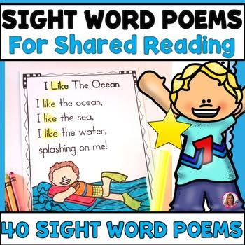 40 poemas de palabras a la vista para lectura compartida (para lectores principiantes) PDF archivo electrónico