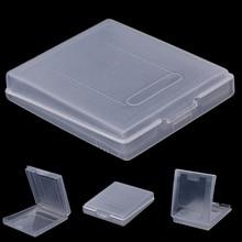 5x прозрачный пластиковый чехол для игрового картриджа, пылезащитный чехол для Nintendo Game Boy Color GBC
