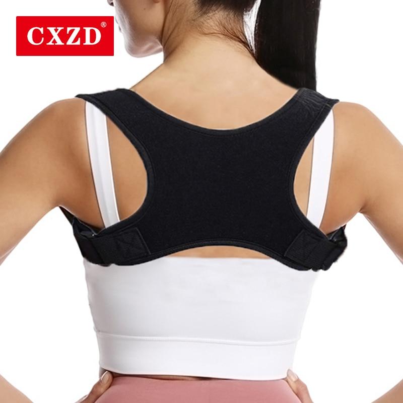 CXZD Women Support Belt Adjustable Posture Brace Corrector Spine Back Shoulder Lumbar Correction Humpback Pain Relief