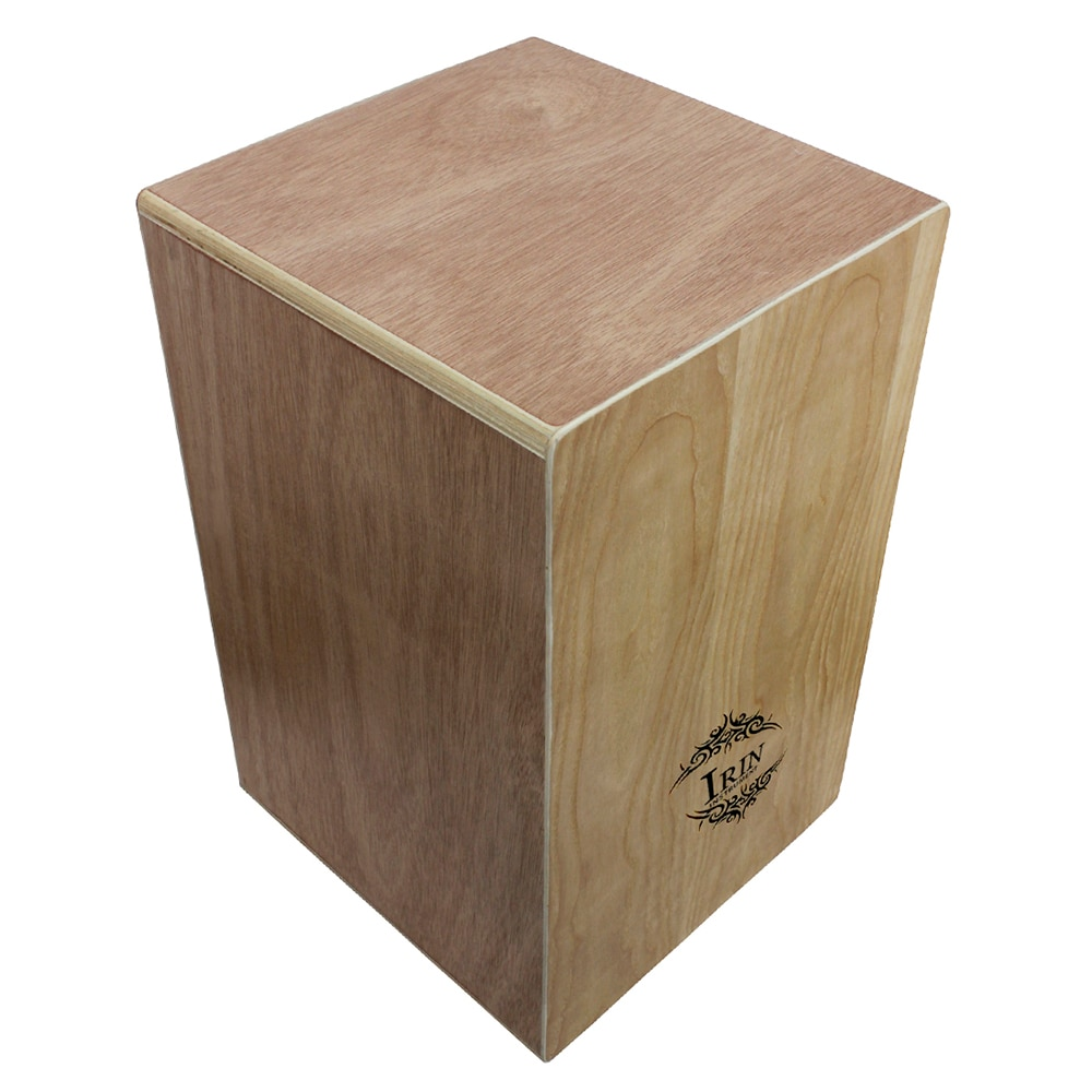 Wooden Cajon Box Drum Hand Drum Percussion Instrument With String Rubber Feet Fraxinus Mandshurica Panel Box Drum With Carry Bag enlarge