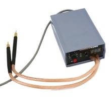 5000W batterie soudeuse par points Kit outils de soudage Portable réglable Machine de soudage par points 0.2MM Nickel bande pour 18650 batterie