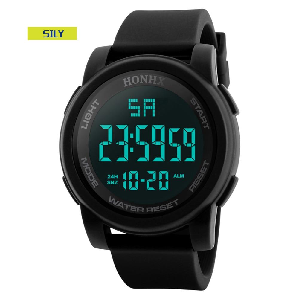2021 Fashion Outdoor Sport Watch Men Multifunction Watches Alarm Clock Chrono 5Bar Waterproof Digital Watch Reloj Hombre enlarge