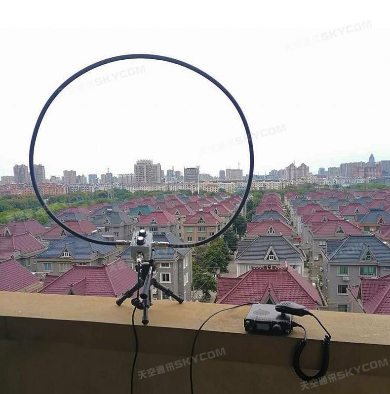QRP المغناطيسي حلقة هوائي موجة قصيرة FM AM SW HF راديو لاسلكي جهاز لاسلكي هوائي 5 واط 7 متر-30 ميجا هرتز 144 متر-148 ميجا هرتز 430-440 ميجا هرتز