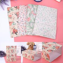 4pcs/Set Holiday with Stickers Label Beautiful Durable Guests Wrapping Bags Gift Bag Holder Party Su