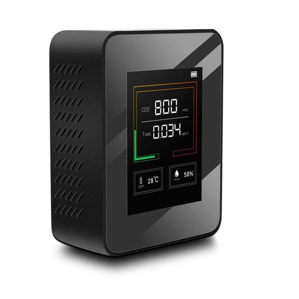 NEW Gas Detector Gas Analyzer Air Quality Monitor carbon dioxide CO2 Meter Air Analyzer CO2 Detector CO2 Sensor CO2 Monitor