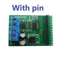 3 in 1 8ch inputoutput digital switch ttl lvttl cmos rs485 io control module modbus rtu board for plc relay
