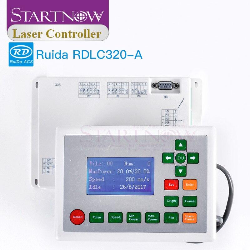 Controlador de tarjeta láser Ruida RDLC320-A, placa base CNC, Panel de sistema de visualización, Control láser CO2 para tabla de máquina de corte RD320