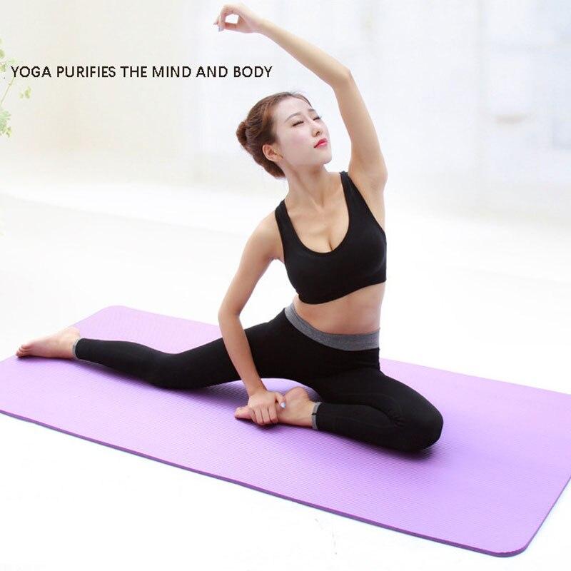 1830*610*8mm EVA Yoga Mat Non Slip Carpet Pilates Gym Sports Exercise Pads for Beginner Fitness Environmental Gymnastics Mats