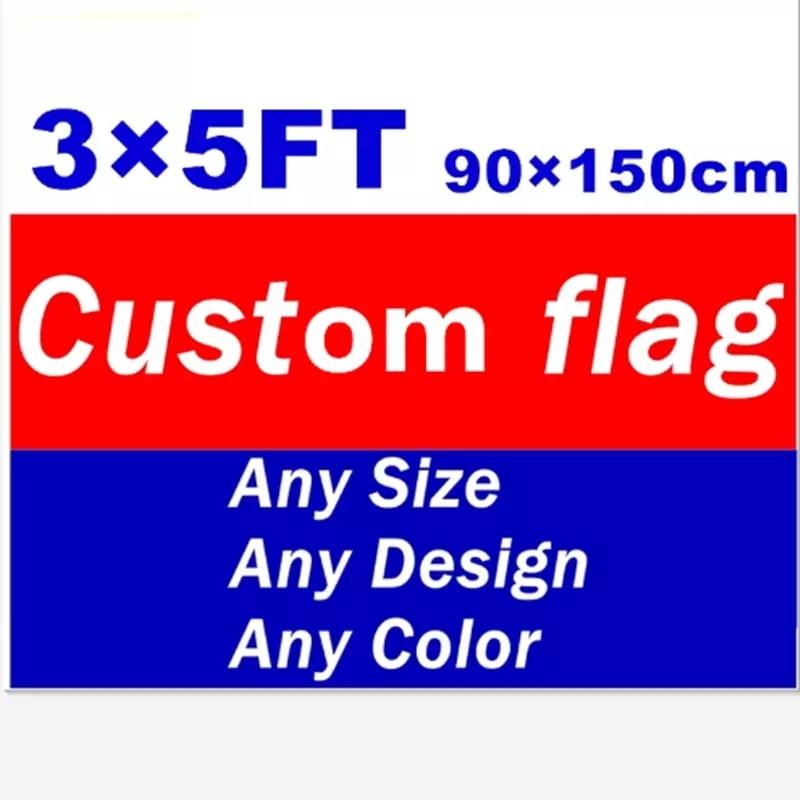Флаги и баннеры Декор на заказ любой размер летающие полиэстер рекламы спортивное украшение Клубные вечерние логотип