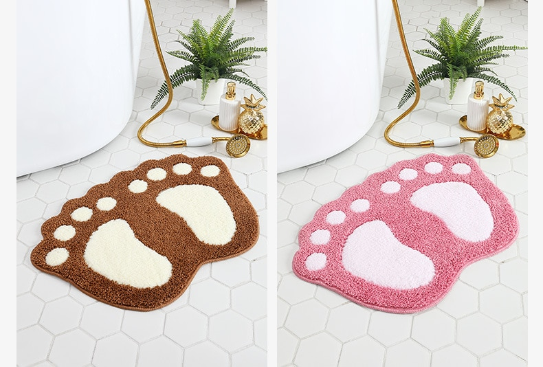 Нескользящий коврик для ванной, Нескользящие коврики для ванной, простые абсорбирующие домашние напольные коврики, дверные коврики