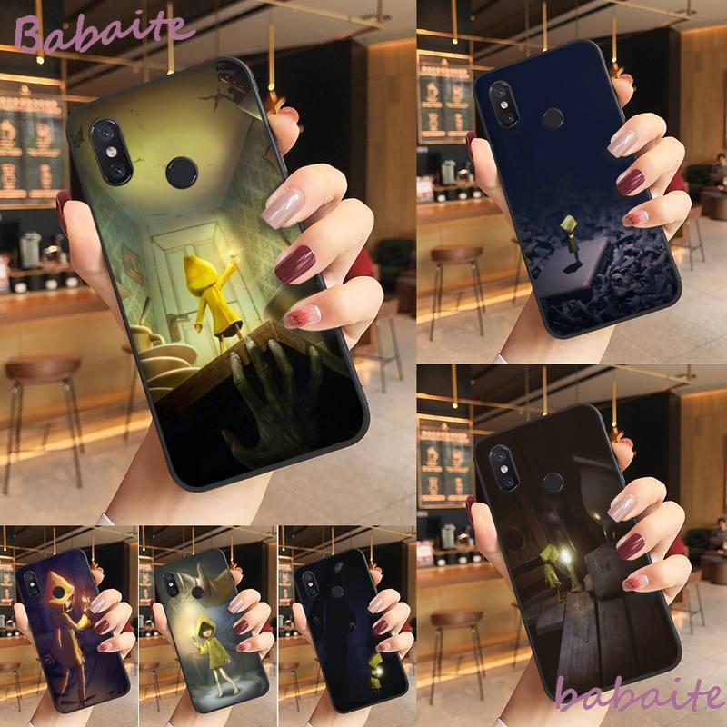 Babaite poco pesadillas cubierta negro suave funda del teléfono carcasa de la caja del teléfono para Redmi Nota 8 8Pro 8T 6pro Redmi 8 7A 6A Xiaomi mi 8 9