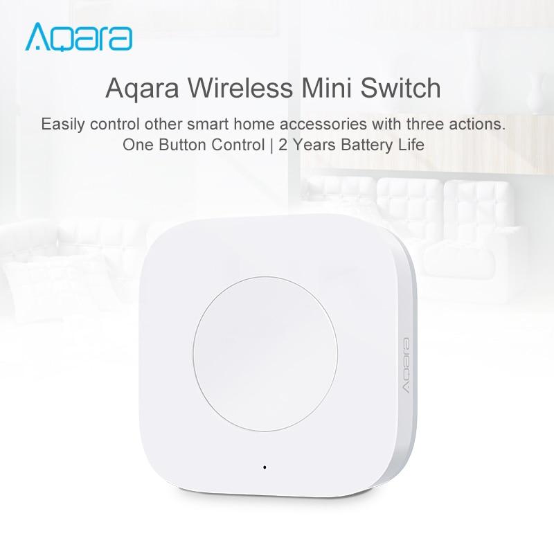 aqara inteligente sem fio interruptor chave aplicativo inteligente controle remoto