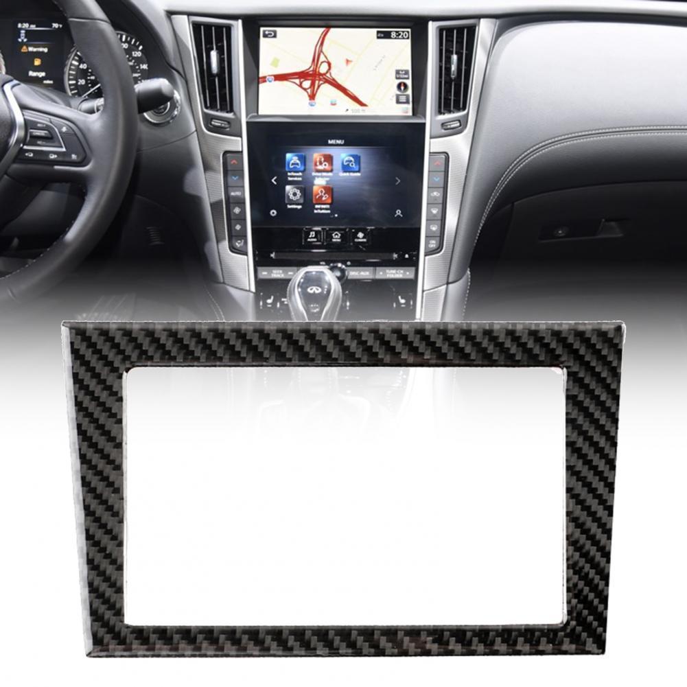 Лидер продаж 50%, наклейка на автомобильную панель, хорошая термостойкость, модернизация салона, углеродное волокно, крышка GPS-навигатора, от...