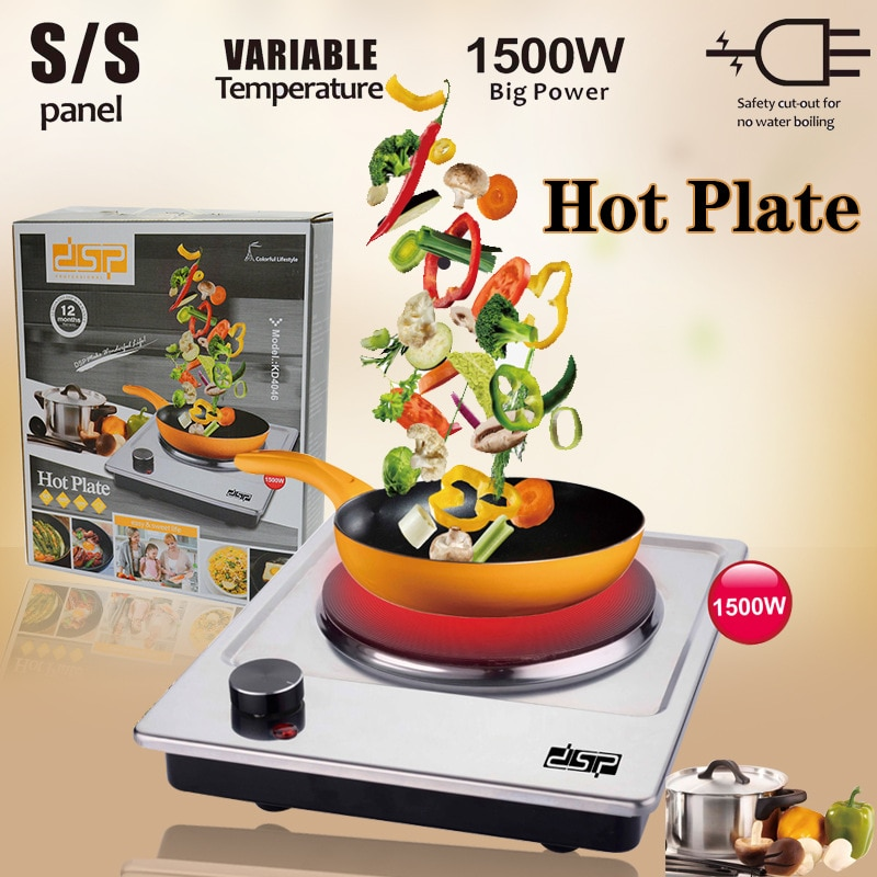 Электрическая плита для приготовления пищи в горячем горшке