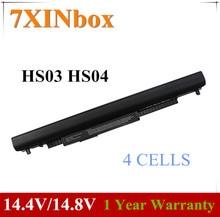 7XINbox 14,8 V аккумулятор HS03 HS04 для HP 240 245 246 250 255 256 G4 14g 14q 15g 15q 15T 15Z 807957-001 HSTNN-LB6U HSTNN-LB6V