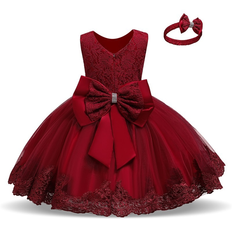 Kids Dress for Girls Summer Dresses for Party and Wedding Christmas Clothing Princess Flower Tutu Dress Children Prom Ball Gown children flower girls dress princess kids dress with bow summer flower girls wedding party clothes kids prom gowns with necklace