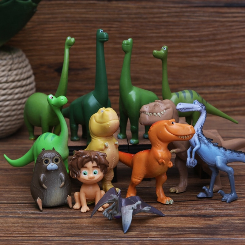 dinosaur animal series many chew toy 12 Pcs Dinosaur Animal Series Model Doll Toys Action Figure Toys For Children Kids party Gift Boys Educational Toy Dropshipping