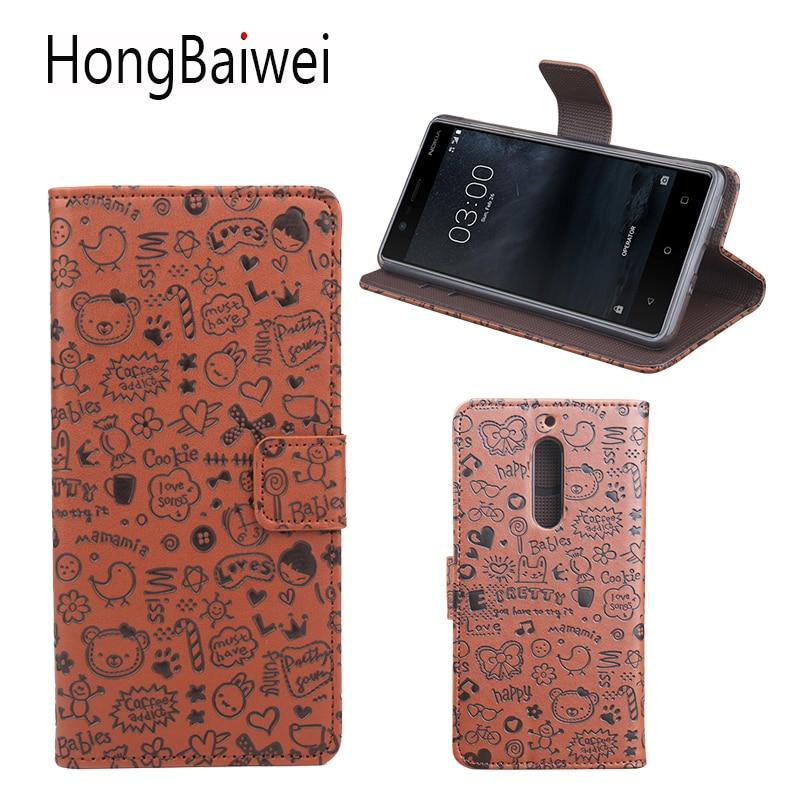 Flip CoverPU Leather Wallet Case for Nokia 3 Nokia 5 Lumia 640 532 Phone Case for Nokia Lumia 540 950 Cover Skin bag Funda