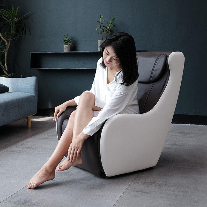 المنزلية الصغيرة الكهربائية العجن تدليك كرسي تقاسم متعددة الوظائف التجارية ذكي كامل مقعد تدليك الجسم أريكة