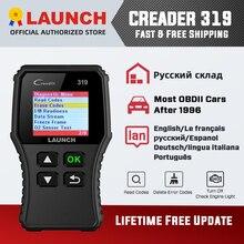 Launch X431 Creader 319 CR319 Full OBDII EOBD OBD2 Scanner Auto Code Reader Automotive Diagnostic Scanner Tool PK CR6001 CR3001
