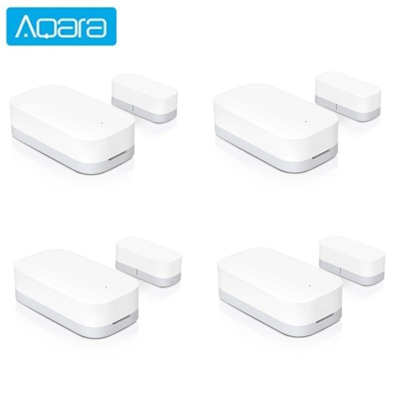 Aqara Door Window Sensor Zigbee Wireless Connection Work with Mi home app and aqara home kit app smart remote control.