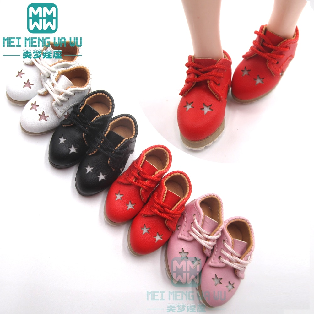 1PCS Blyth shoes fashion casual shoes white, red, pink, black for Blyth Azone 1/6 doll accessories недорого