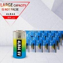 20 pièces 4LR44 piles L1325 6V primaire sec pile alcaline cellules voiture montre à distance jouet calculatrice nouvelle livraison directe