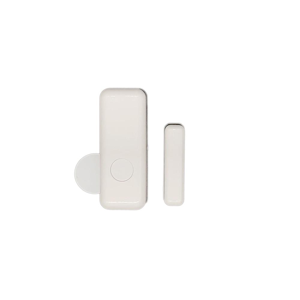 433MHz Wireless Door Window Detector White Magnetic Contact Switch Sensor to Detect Door Open for House Security Alarm System