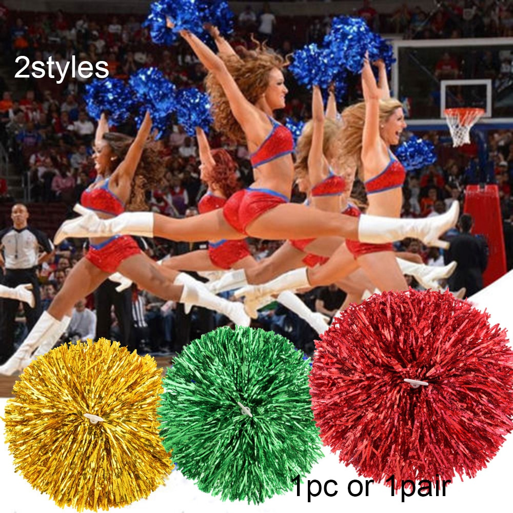 burgundy casual sport sleeveless top and elastic waist short co ord with pom pom details 1PC Plastic Handle Metallic Streamer Pompoms Cheerleading Cheering Pom Pom Ball Cheering Dance Decorator Club Sport Supply